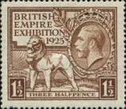 [The Re-opening of the British Exhibition in Wembley - Year 1925 on Stamp, type CE1]