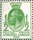 [The 9th Congress of the Universal Postal Union in London, Typ CF2]