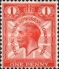 [The 9th Congress of the Universal Postal Union in London, type CG]