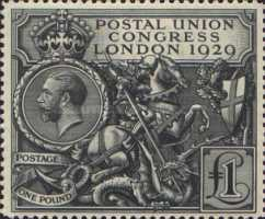 [The 9th Congress of the Universal Postal Union in London, type CI]