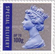 [Queen Elizabeth II - Special Delivery Stamps, Self Adhesive, Typ CMH]