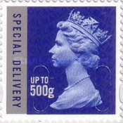 [Queen Elizabeth II - Special Delivery Stamps, Self Adhesive, Typ CMH1]
