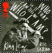 [The 50th Anniversary of the Royal Shakespeare Company, Typ COK]