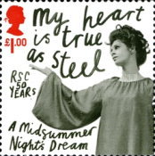 [The 50th Anniversary of the Royal Shakespeare Company, Typ COL]