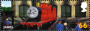 [The 100th Anniversary of the Birth of Wilbert V. Awdry, 1911-1997, Typ CPA]