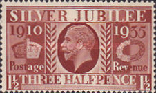 [The 25th Anniversary of King George V, Typ CR4]