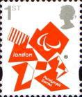 [Olympic and Paralympic Games - London. Self Adhesive Stamps, Typ CRJ]