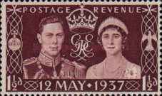 [Coronation of King George VI, Typ CT]