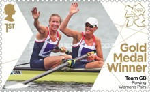 [Team GB Gold Medal Winners - Self Adhesive Stamps, Typ CVA]