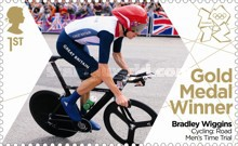 [Team GB Gold Medal Winners - Self Adhesive Stamps, Typ CVB]