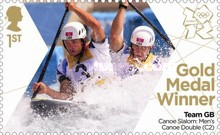 [Team GB Gold Medal Winners - Self Adhesive Stamps, Typ CVC]