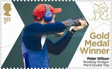 [Team GB Gold Medal Winners - Self Adhesive Stamps, Typ CVD]