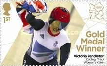 [Team GB Gold Medal Winners - Self Adhesive Stamps, Typ CVH]