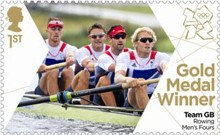 [Team GB Gold Medal Winners - Self Adhesive Stamps, Typ CVI]