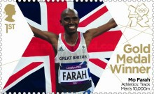 [Team GB Gold Medal Winners - Self Adhesive Stamps, Typ CVN]