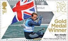 [Team GB Gold Medal Winners - Self Adhesive Stamps, Typ CVO]