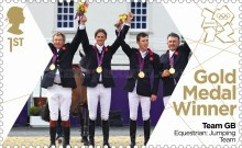[Team GB Gold Medal Winners - Self Adhesive Stamps, Typ CVQ]