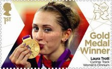 [Team GB Gold Medal Winners - Self Adhesive Stamps, Typ CVU]