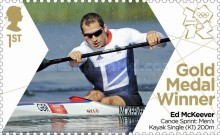 [Team GB Gold Medal Winners - Self Adhesive Stamps, Typ CVZ]