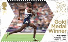 [Team GB Gold Medal Winners - Self Adhesive Stamps, Typ CWA]
