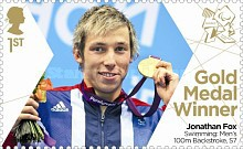 [Paralympics Team GB Gold Medal Winners - Self Adhesive Stamps, Typ CWI]