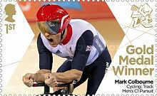 [Paralympics Team GB Gold Medal Winners - Self Adhesive Stamps, Typ CWJ]