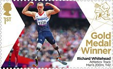 [Paralympics Team GB Gold Medal Winners - Self Adhesive Stamps, Typ CWM]