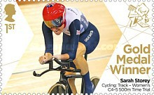[Paralympics Team GB Gold Medal Winners - Self Adhesive Stamps, Typ CWO]
