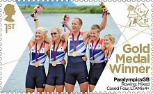 [Paralympics Team GB Gold Medal Winners - Self Adhesive Stamps, Typ CWQ]