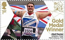 [Paralympics Team GB Gold Medal Winners - Self Adhesive Stamps, Typ CWR]