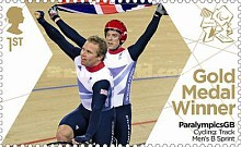 [Paralympics Team GB Gold Medal Winners - Self Adhesive Stamps, Typ CWS]