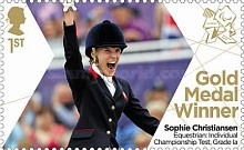 [Paralympics Team GB Gold Medal Winners - Self Adhesive Stamps, Typ CWU]