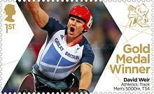 [Paralympics Team GB Gold Medal Winners - Self Adhesive Stamps, Typ CWV]