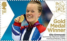 [Paralympics Team GB Gold Medal Winners - Self Adhesive Stamps, Typ CWX]