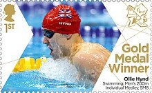 [Paralympics Team GB Gold Medal Winners - Self Adhesive Stamps, Typ CXE]