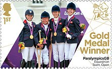 [Paralympics Team GB Gold Medal Winners - Self Adhesive Stamps, Typ CXF]