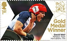 [Paralympics Team GB Gold Medal Winners - Self Adhesive Stamps, Typ CXK]