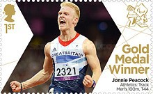 [Paralympics Team GB Gold Medal Winners - Self Adhesive Stamps, Typ CXL]