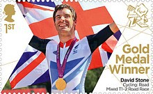 [Paralympics Team GB Gold Medal Winners - Self Adhesive Stamps, Typ CXN]