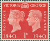 [Queen Victoria and King George VI, type CZ1]