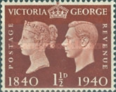 [Queen Victoria and King George VI, type CZ2]