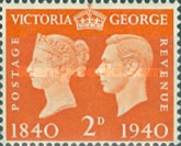 [Queen Victoria and King George VI, type CZ3]