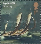 [The 500th Anniversary of the Royal Mail, Typ DLQ]