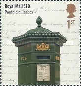 [The 500th Anniversary of the Royal Mail, Typ DLR]