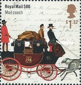 [The 500th Anniversary of the Royal Mail, Typ DLT]