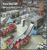 [The 500th Anniversary of the Royal Mail, Typ DLU]