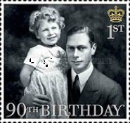 [The 90th Anniversary of the Birth of Queen Elizabeth II, Typ DMP]