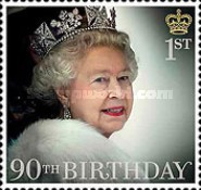 [The 90th Anniversary of the Birth of Queen Elizabeth II, Typ DMQ]