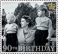 [The 90th Anniversary of the Birth of Queen Elizabeth II, Typ DMR]