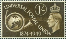 [The 75th Anniversary of the Universal Postal Union, type DN]
